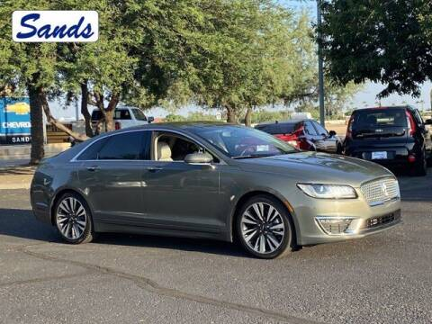 2017 Lincoln MKZ for sale at Sands Chevrolet in Surprise AZ