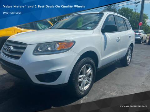 2012 Hyundai Santa Fe for sale at Valpo Motors Inc. in Valparaiso IN