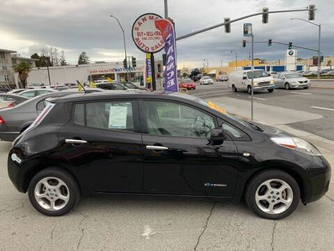 2012 Nissan LEAF for sale at San Mateo Auto Sales in San Mateo CA