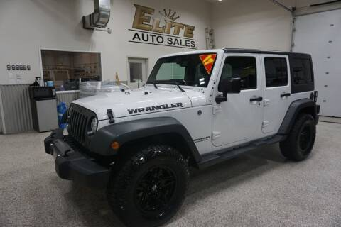 2017 Jeep Wrangler Unlimited for sale at Elite Auto Sales in Idaho Falls ID