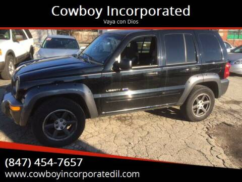 2003 Jeep Liberty for sale at Cowboy Incorporated in Waukegan IL