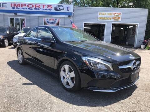 2017 Mercedes-Benz CLA for sale at Top Line Import of Methuen in Methuen MA