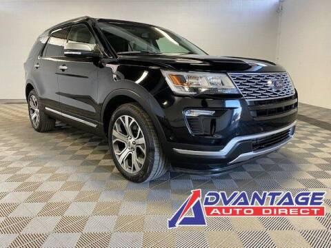 2018 Ford Explorer for sale at Advantage Auto Direct in Kent WA