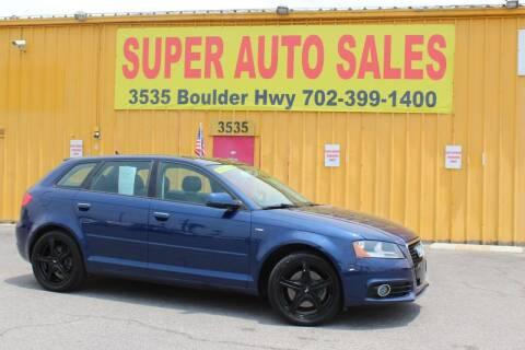 2013 Audi A3 for sale at Super Auto Sales in Las Vegas NV