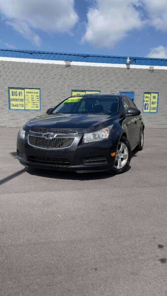 2014 Chevrolet Cruze for sale at BIG #1 INC in Brownstown MI