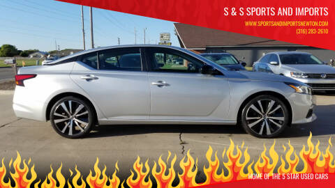2019 Nissan Altima for sale at S & S Sports and Imports in Newton KS