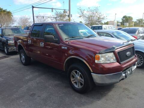 2005 Ford F-150 for sale at LAND & SEA BROKERS INC in Deerfield FL
