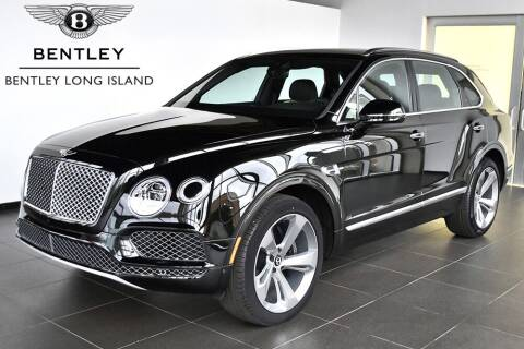 2019 Bentley Bentayga for sale at Bespoke Motor Group in Jericho NY