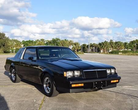 1986 Buick Regal for sale at Sunshine Classics, LLC in Boca Raton FL