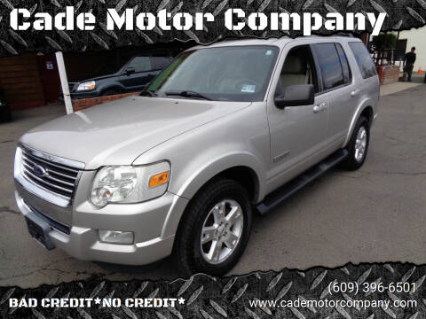 2008 Ford Explorer for sale at Cade Motor Company in Lawrenceville NJ
