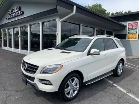 2013 Mercedes-Benz M-Class for sale at Prestige Pre - Owned Motors in New Windsor NY