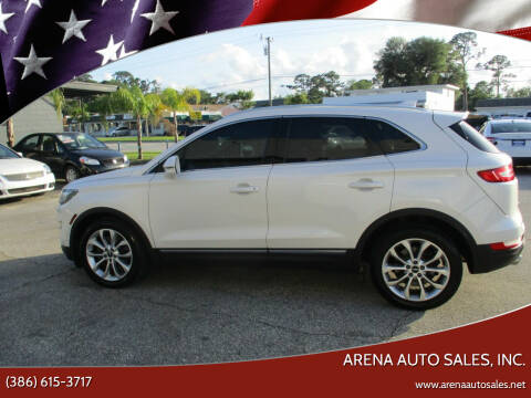 2015 Lincoln MKC for sale at ARENA AUTO SALES,  INC. in Holly Hill FL
