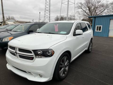 2013 Dodge Durango for sale at MJ'S Sales in Foristell MO