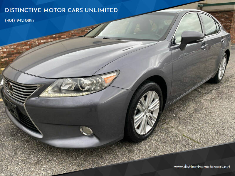 2013 Lexus ES 350 for sale at DISTINCTIVE MOTOR CARS UNLIMITED in Johnston RI