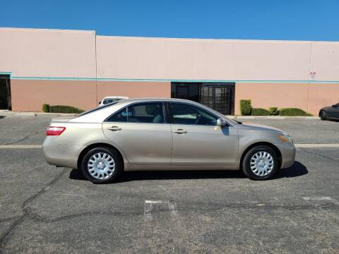 2007 Toyota Camry for sale at E and M Auto Sales in Bloomington CA