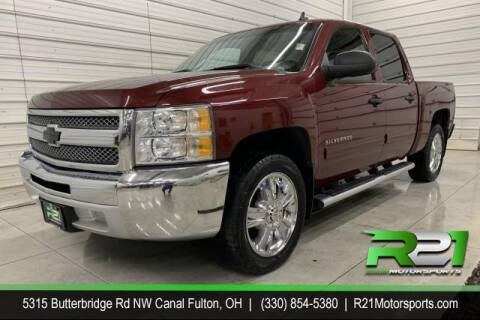 2013 Chevrolet Silverado 1500 for sale at Route 21 Auto Sales in Canal Fulton OH
