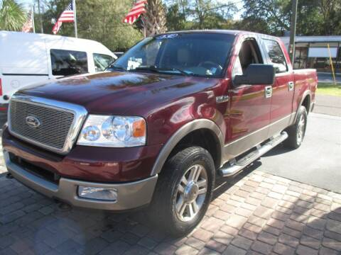 2005 Ford F-150 for sale at Affordable Auto Motors in Jacksonville FL