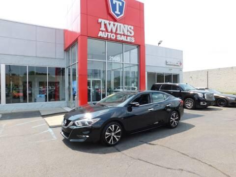 2018 Nissan Maxima for sale at Twins Auto Sales Inc in Detroit MI