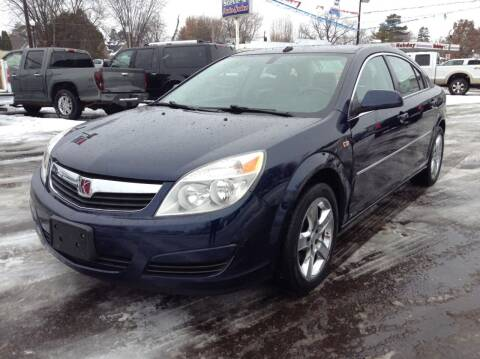 2008 Saturn Aura for sale at Steves Auto Sales in Cambridge MN