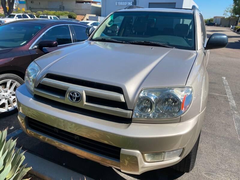 2003 Toyota 4Runner for sale at Cars4U in Escondido CA