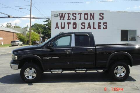 2005 Dodge Ram Pickup 2500 for sale at Weston's Auto Sales, Inc in Crewe VA