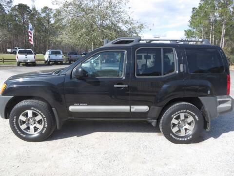 2010 Nissan Xterra for sale at Ward's Motorsports in Pensacola FL