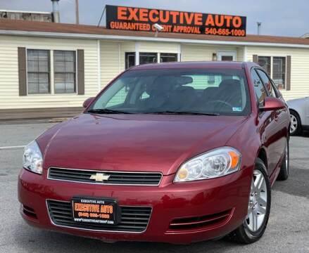 2009 Chevrolet Impala for sale at Executive Auto in Winchester VA
