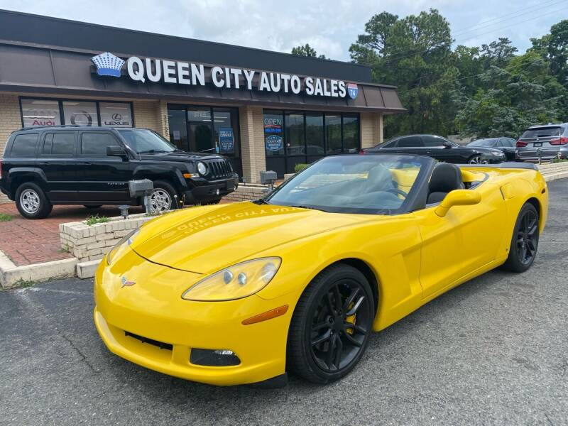 2006 Chevrolet Corvette for sale at Queen City Auto Sales in Charlotte NC