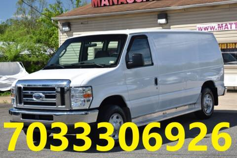 2008 Ford E-Series Cargo for sale at MANASSAS AUTO TRUCK in Manassas VA
