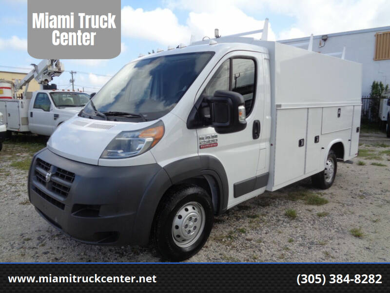 2016 RAM ProMaster Cab Chassis for sale at Miami Truck Center in Hialeah FL