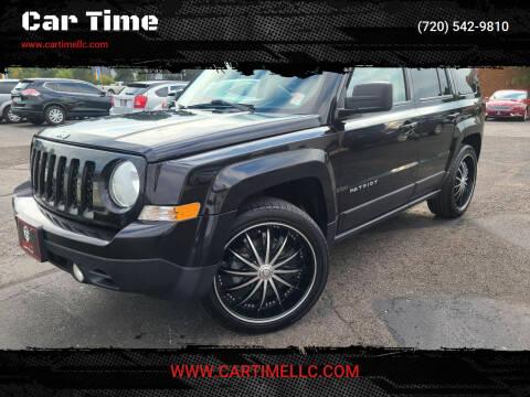 2015 Jeep Patriot for sale at Car Time in Denver CO