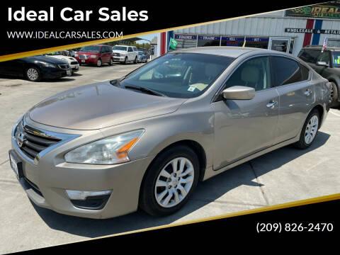 2015 Nissan Altima for sale at Ideal Car Sales in Los Banos CA