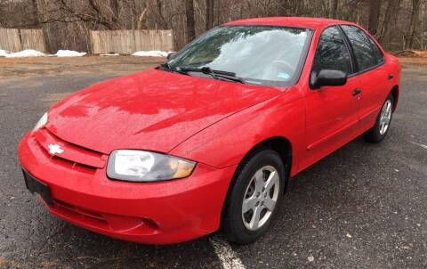 2004 Chevrolet Cavalier for sale at Motuzas Automotive Inc. in Upton MA