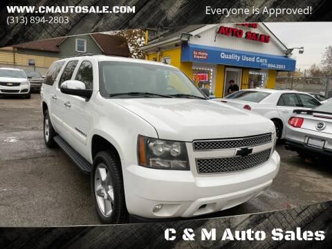 2007 Chevrolet Suburban for sale at C & M Auto Sales in Detroit MI