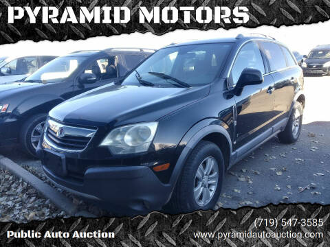 2008 Saturn Vue for sale at PYRAMID MOTORS - Pueblo Lot in Pueblo CO