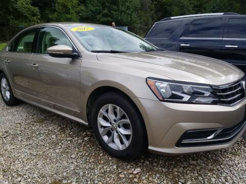 2017 Volkswagen Passat for sale at W V Auto & Powersports Sales in Cross Lanes WV