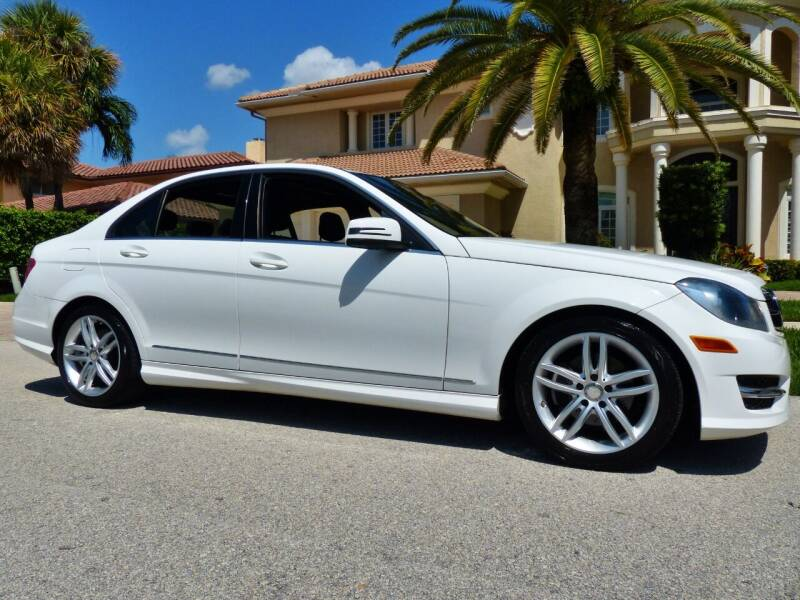 2014 Mercedes-Benz C-Class for sale at Lifetime Automotive Group in Pompano Beach FL