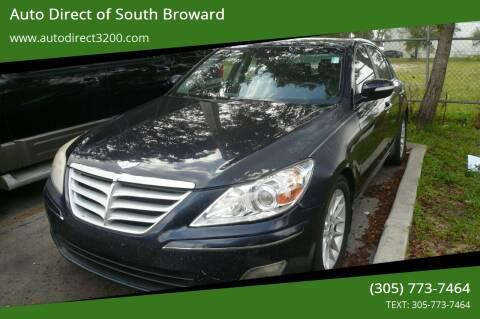2009 Hyundai Genesis for sale at Auto Direct of South Broward in Miramar FL
