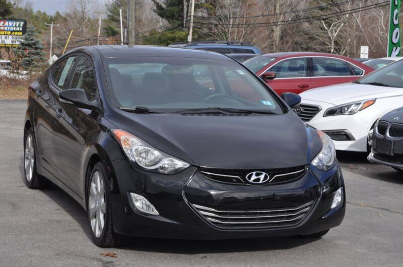 2012 Hyundai Elantra for sale at Amati Auto Group in Hooksett NH