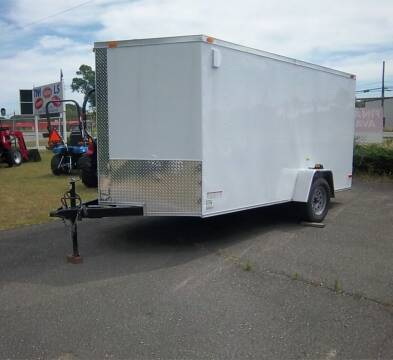 2021 DEEP SOUTH 7 x 12 Enclosed for sale at Sanders Motor Company in Goldsboro NC