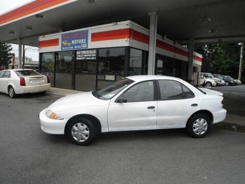 2001 Chevrolet Cavalier for sale at Penn American Motors LLC in Allentown PA