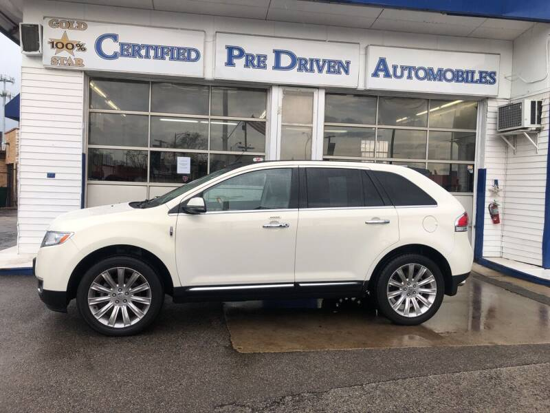 2012 Lincoln MKX for sale at Jack E. Stewart's Northwest Auto Sales, Inc. in Chicago IL