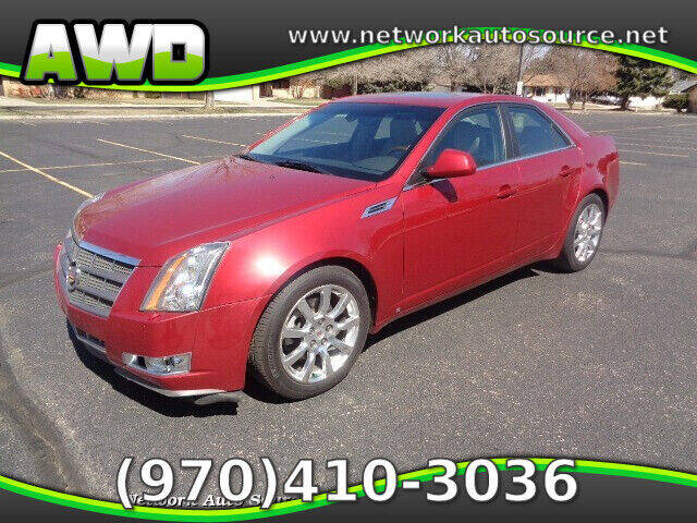 2009 Cadillac CTS for sale at Network Auto Source in Loveland CO