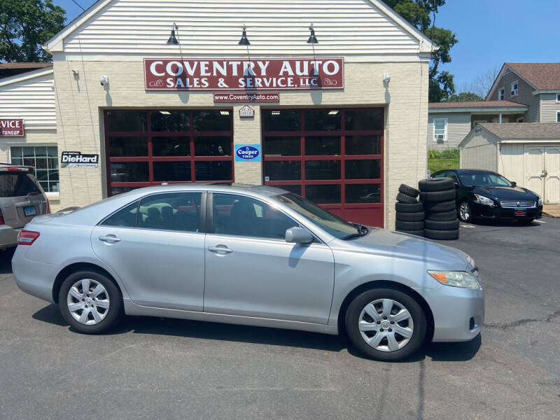 2010 Toyota Camry for sale at COVENTRY AUTO SALES in Coventry CT