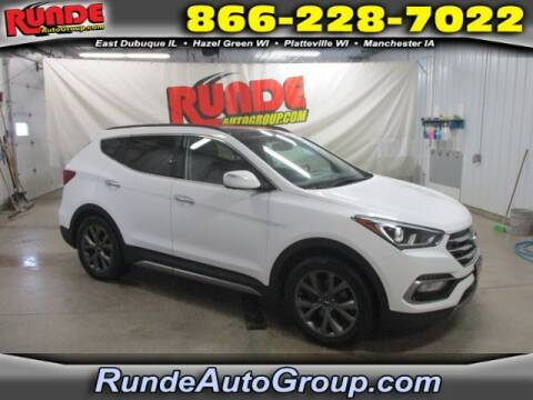 2017 Hyundai Santa Fe Sport for sale at Runde Chevrolet in East Dubuque IL