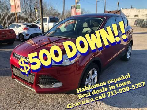 2016 Ford Escape for sale at Saipan Auto Sales in Houston TX