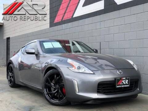 2014 Nissan 370Z for sale at Auto Republic Fullerton in Fullerton CA