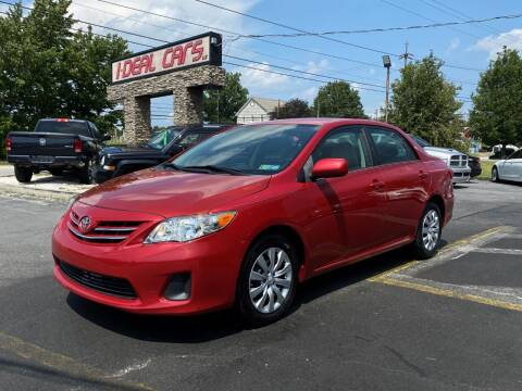 2013 Toyota Corolla for sale at I-DEAL CARS in Camp Hill PA