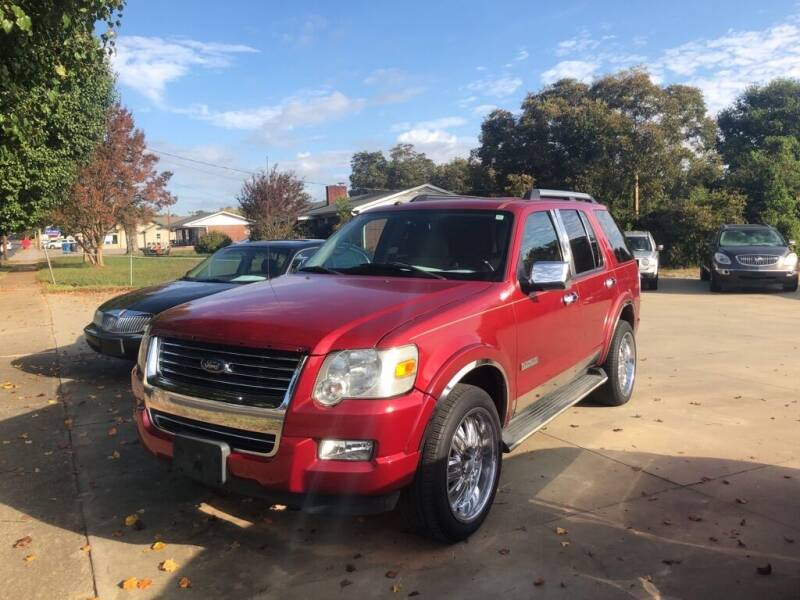 2008 Ford Explorer for sale at Mikes Auto Sales INC in Forest City NC