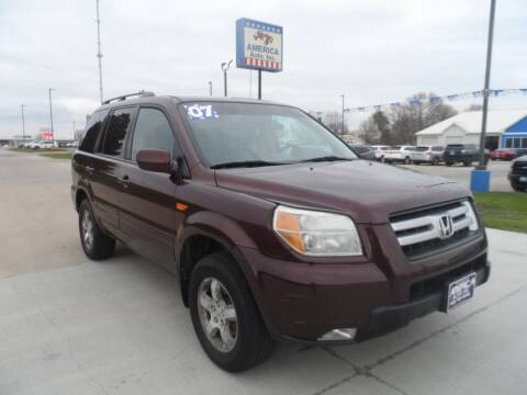 2007 Honda Pilot for sale at America Auto Inc in South Sioux City NE